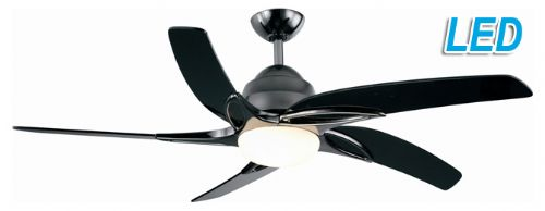 "Fantasia Viper 44"" Pewter Ceiling Fan + Remote Control +  LED Light 115632"
